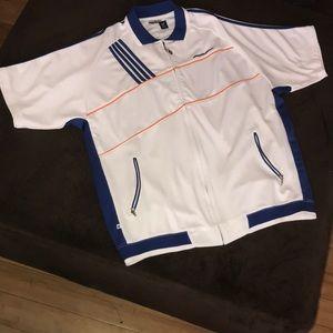 Rocawear Short Sleeve Zip Up Sweater 2XL
